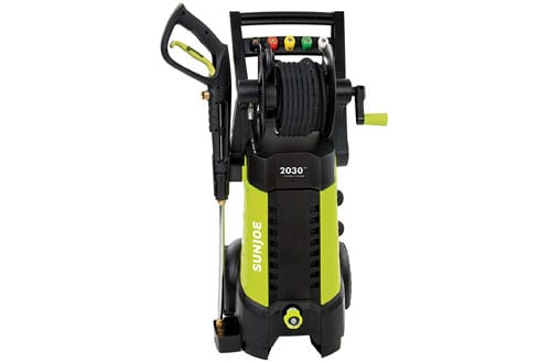 Sun Joe SPX3001 2030 14.5 AMP Electric Pressure Washer with Hose Reel