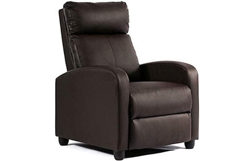 BestMassage Recliner Chair Single Sofa Couch Accent Club Chair for Living Room