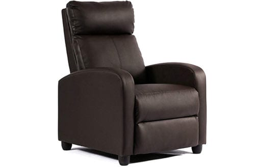 Recliner Chair Modern Leather Chaise Couch