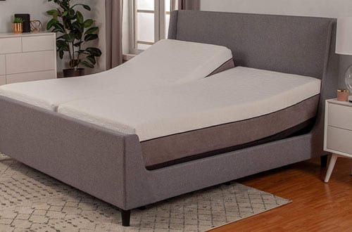 Split King Adjustable Bed Base with Wireless Remote