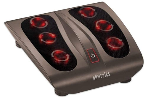 Triple Action Shiatsu Foot Massager with Heat
