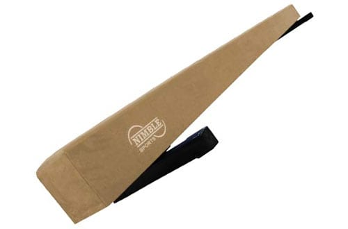 Nimble Sports Tan Adjustable Gymnastic Beam for Balancing