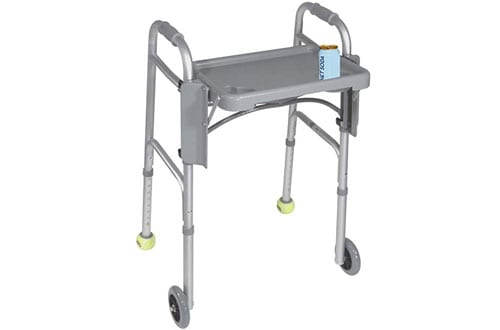 Drive Medical Deluxe Folding Walker Tray