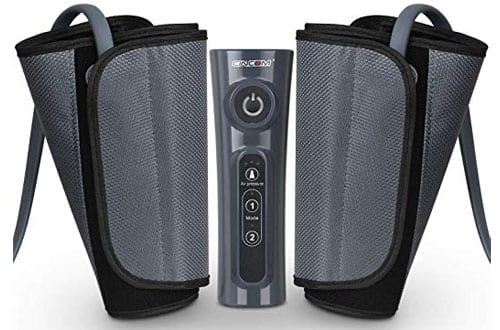 CINCOM Leg Massager for Air Compression Calf Wraps for RLS and Edema