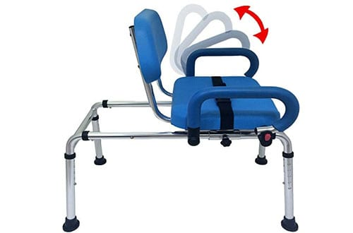 Platinum Health Carousel Sliding Transfer Bench with Seat
