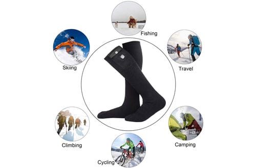 SunwillElectric Heated Socks & Foot Warmer with Battery