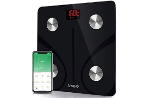 RENPHO Bluetooth Body Fat Scale with Smartphone App 396 lbs