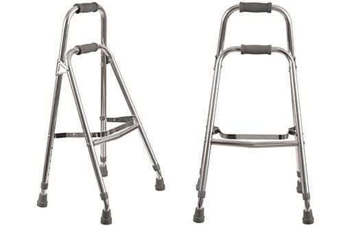 Duro-Med Aluminum Folding Hemi-Walker provides Support