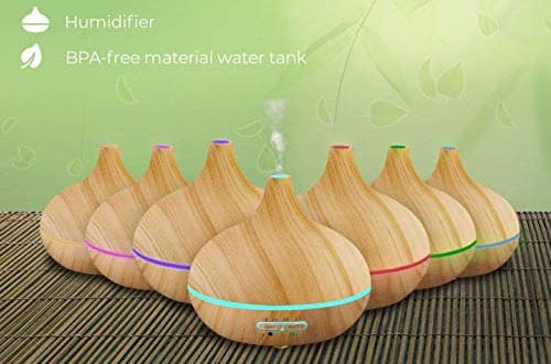 Ultimate Aromatherapy Diffuser and Essential Oil Set