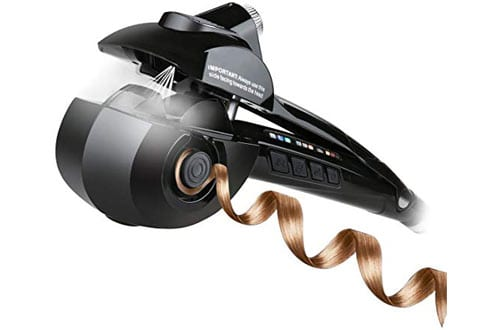 Hair Curler & Automatic Steam Ceramic Curling Wand