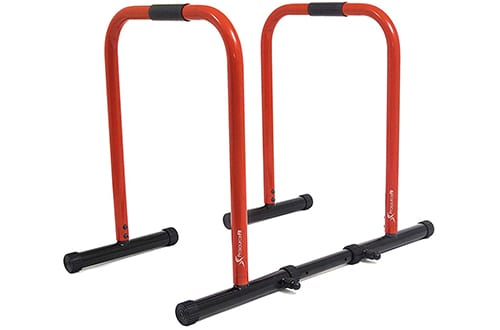 ProsourceFit Dip Stand Station, Heavy Duty Ultimate Body Press Bar