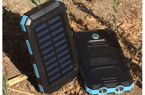 TAVLAR 500000mAh Portable Solar Battery Charger