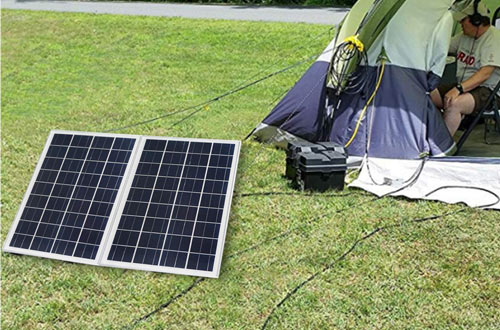 ECO-WORTHY 25W 12V IP65 Solar Battery Charger