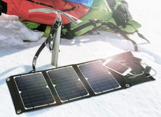 RAVPower 16W Solar Panel Charger for Camping Travel Charger