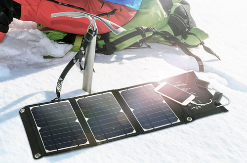 RAVPower 16W Solar PanelChargerfor Camping Travel Charger
