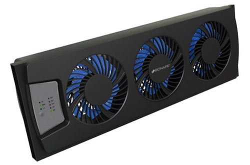 Bionaire Thin Window Fan with Comfort Control Thermostat