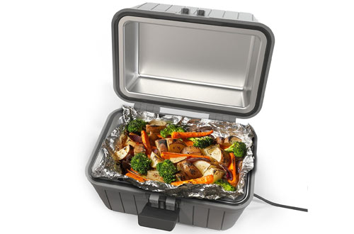 Gideon12-VoltHeated Electric Lunch Boxes forCar, Truck & Camping
