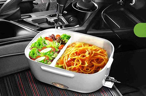 COROTC 2V & 110V Car Heated Lunch Boxes & Food Warmer Heater