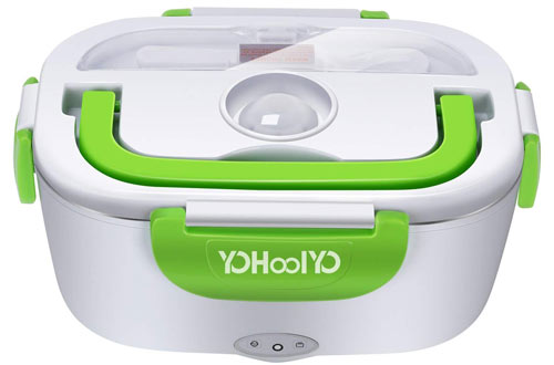 YOHOOLYO Portable Electric Lunch Box - Food Lunch Heater